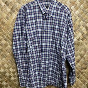 Jared Lang Plaid Convertible Sleeves Shirt